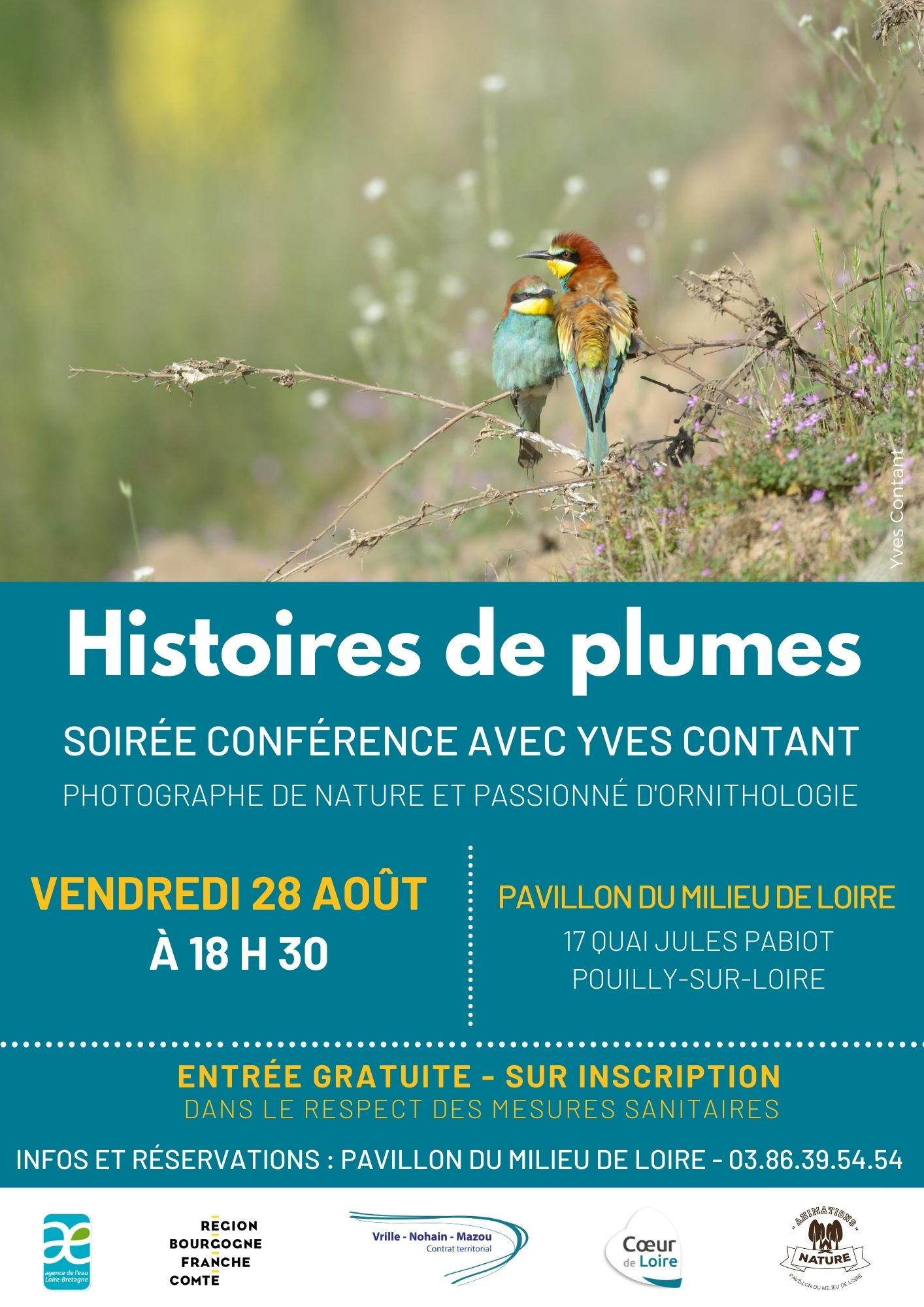 Conférence au Pavillon du Milieu de Loire