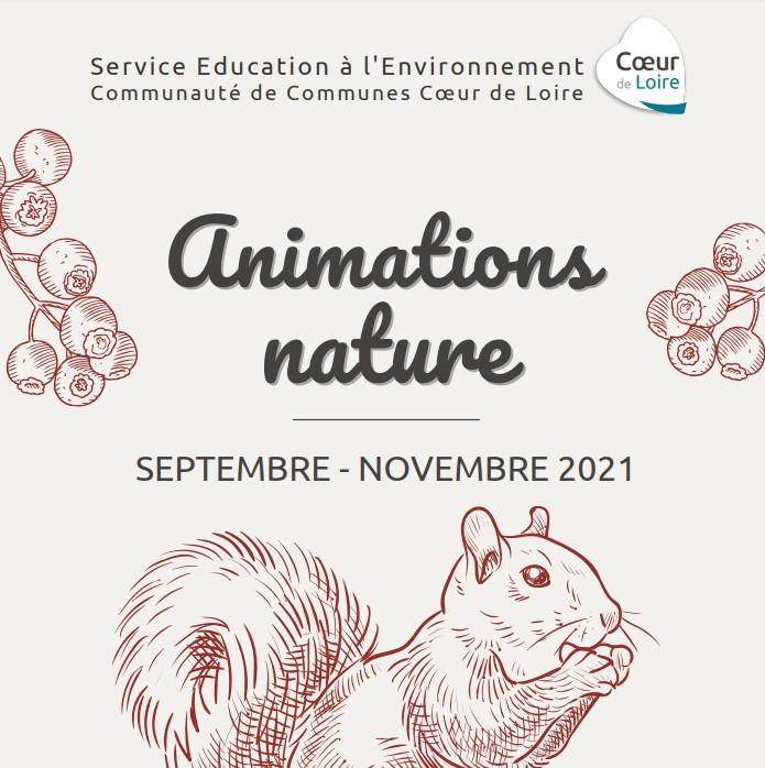 Des animations pour découvrir la nature