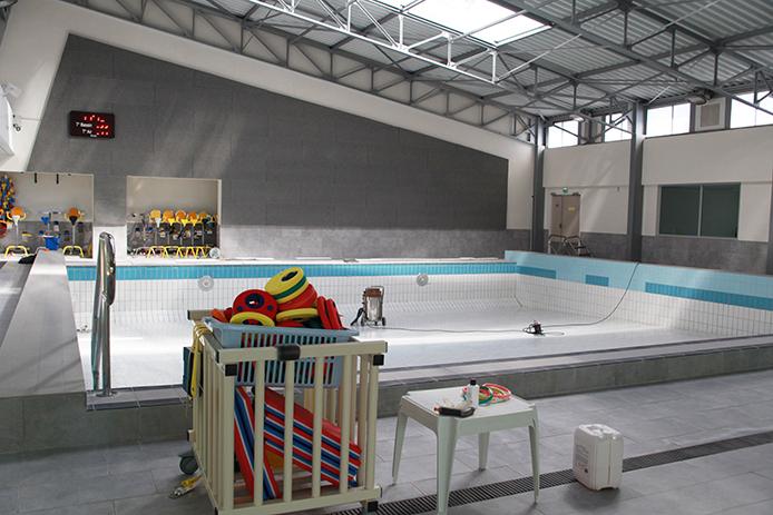 La piscine prépare sa saison